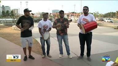 Grupo de amigos realiza projeto de samba em São Luís - Projeto surgiu há quatro anos por um grupo de amigos e está na sua quarta edição, com o intuito de juntar a arte do samba com a arte de fazer o bem.