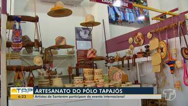 Artistas de Santarém participam de evento internacional - Potencial dos artistas do Tapajós estiveram presentes em evento na capital paraense.