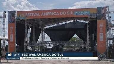 Festival América do Sul agita Corumbá no fim de semana - Festival América do Sul agita Corumbá no fim de semana