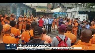 Corpo de gari morto por bala perdida será enterrado nesta sexta (15) - Francisco Paulo da Silva, de 61 anos, foi atingido quando trabalhava em Vicente de Carvalho. A Polícia Civil instaurou um inquérito para apurar o caso.