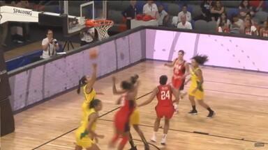 Seleção perde para os Estados Unidos no pré-olímpico de basquete feminino - Seleção perde para os Estados Unidos no pré-olímpico de basquete feminino