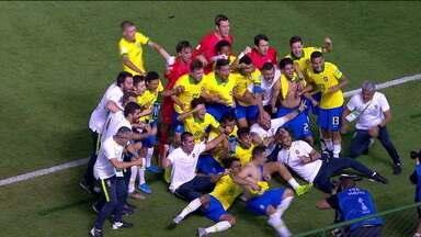Brasil vence a França e enfrenta o México na final da Copa do Mundo Sub-17 - Brasil vence a França e enfrenta o México na final da Copa do Mundo Sub-17
