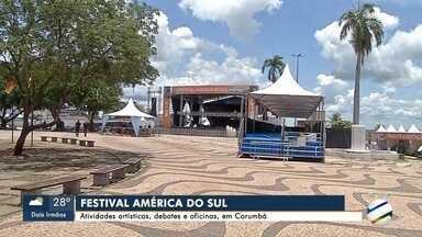 Atividades artísticas, debates e oficinas, em Corumbá - Atividades artísticas, debates e oficinas, em Corumbá
