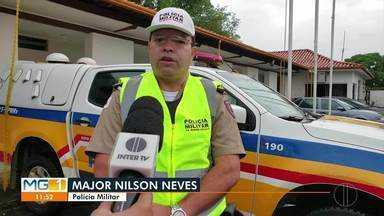Polícia Militar Rodoviária faz operação em Curvelo - Ação tem como objetivo reduzir ocorrência de acidentes.