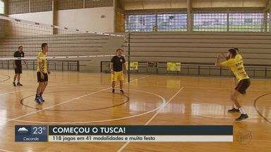 Tusca tem 118 jogos em 41 modalidades, shows e festas - Estudantes estão pelas ruas, ginásios, quadras e campos de São Carlos (SP).