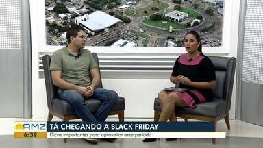Consultor empresarial de RR dá dicas para quem deseja fazer compras na Black Friday - Ronilson Duarte indica alguns cuidados que o consumidor deve ter na hora de comprar. Evento ocorre dia 29 de novembro no Brasil.