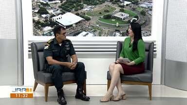 PM explica os casos de arrombamento em pontos comerciais de Boa Vista - O comandante Miramilton Bueno fala sobre os trabalhos de fiscalização ostensiva nas ruas da capital.