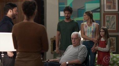 Nana e Diogo se separam por um tempo - Marcos e Alberto comemoram