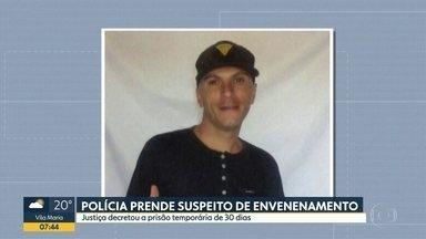 Polícia prende sobrevivente de um suposto envenenamento em Barueri - Caso aconteceu no último sábado (16) em oito pessoas passaram mal