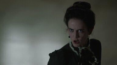 Unidos Pela Morte - Vanessa tem uma visão que leva Sir Malcolm, Ethan e Sembene à procura de Mina. O Professor Van Helsing revela mais detalhes sobre a criatura que sequestrou Mina.