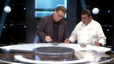 Claude Troisgros avalia os pratos feitos pelo time Kátia - Confira!