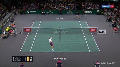 Masters 1000 - Paris - Semifinal - Djokovic x Dimitrov