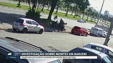 Polícia investiga mortes em Barueri - Laudo sobre o conteúdo da garrafa deve sair ainda hoje