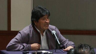 MP da Bolívia abre investigação contra o ex-presidente Evo Morales - A investigação contra Morales é por supostos atos de terrorismo e sedição, que é quando alguém incita pessoas a se rebelarem contra a autoridade do estado.
