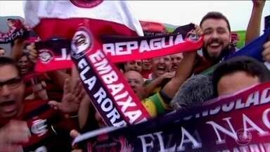 Flamengo enfrenta o River Plate pela final da Libertadores - Acompanhe a cobertura completa do pré-jogo em Lima, no Peru.