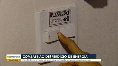 Com medidas simples, colégio fica em primeiro lugar em economia de energia - Escola está localizada na Zona Norte de Manaus.