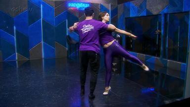 Veja como foram os ensaios de Regiane Alves para o foxtrote no 'Dança dos Famosos' - Confira!