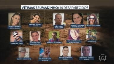 Brumadinho: em dez meses, bombeiros encontram cerca de 95% das vítimas da tragédia - Quatorze pessoas permanecem desaparecidas. Investigações criminais ainda não apontam suspeitos ou causas do rompimento da barragem.