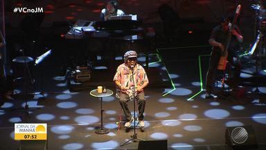 Milton Nascimento atrai multidão em show na Concha Acústica do Teatro Castro Alves - Espetáculo aconteceu na noite de domingo (24), em Salvador.