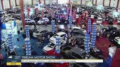 16º Tribuna Motor Show recebeu 20 mil visitantes, em Santos - Maior evento automobilístico da região movimentou a economia da cidade.