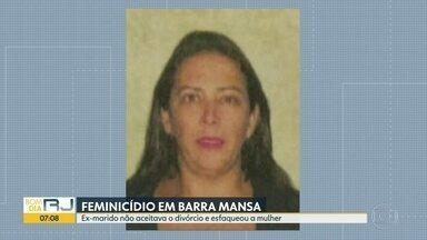 Mulher de 38 anos é morta pelo ex-marido, em Barra Mansa - Ela foi esfaqueada.
