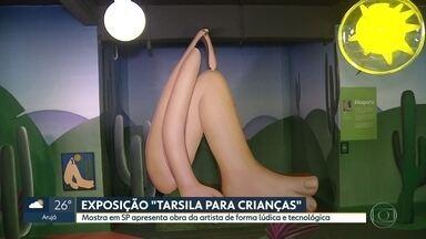 Tarsila para crianças - Exposição apresenta obra da artista de forma lúdica