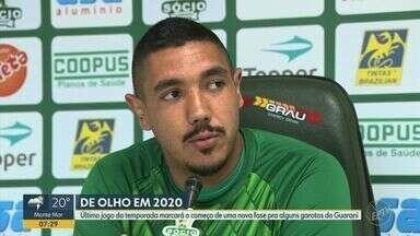 Último jogo da temporada marca o começo de uma nova fase para alguns garotos do Guarani - Time enfrenta o Londrina no sábado (30).