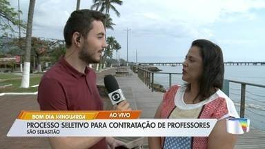 São Sebastião abre processo seletivo para contratar professores - Vagas são para educação básica.