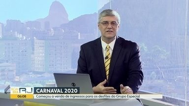 Ingressos para o desfile das escolas de samba do Grupo Especial já estão à venda - Entradas são para arquibancadas especiais, turísticas e também cadeiras individuais.