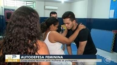 Curso ensina técnicas de autodefesa para mulheres em Teresina - Curso ensina técnicas de autodefesa para mulheres em Teresina