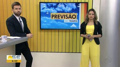 Michele Costa fala como fica o tempo em Sergipe - Michele Costa fala como fica o tempo em Sergipe.