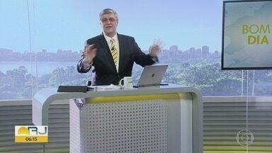 Bom dia Rio - Edição de quarta-feira, 27/11/2019 - As primeiras notícias do Rio de Janeiro, apresentadas por Flávio Fachel, com prestação de serviço, boletins de trânsito e previsão do tempo.