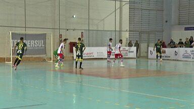 Mogi Futsal empata com o Santo André pelas quartas de final da Liga Paulista - Equipes ficaram no 1 a 1 no primeiro jogo das quartas, no ginásio do Botujuru, em Mogi das Cruzes.