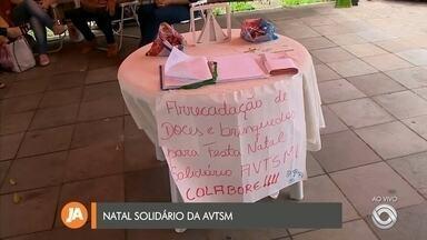 AVTSM arrecada brinquedos na Tenda da Vigília - Assista ao vídeo.