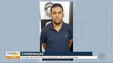 Acusado por feminicídio é condenado a 27 anos de prisão - Edson Aparecido Rosa, de 35 anos é acusado de matar a ex-mulher, Yara Macedo dos Santos no ano passado.