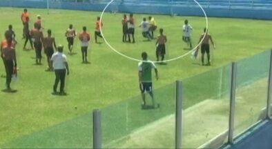 Árbitro assistente denuncia jogadores do sub-20 do Paysandu por agressão - Árbitro assistente denuncia jogadores do sub-20 do Paysandu por agressão