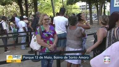 Dia de Ação de Graças tem serviços gratuitos de saúde e bem estar no Recife - Mutirão de atendimento acontece no Parque 13 de Maio.