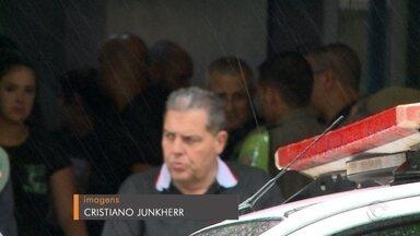 Policial morta durante confronto é velada em Cachoeira do Sul - Marciele Renata dos Santos Alves integrava o Pelotão de Operações Especiais da Brigada Militar, de Santa Cruz do Sul.