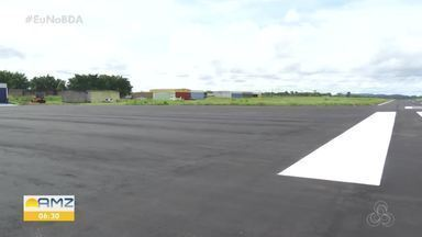 Pista do aeroporto de Ariquemes será reformada para receber aeronaves maiores - Recurso será repassado para o Departamento de Estradas de Rodagem, que irá executar a obra.