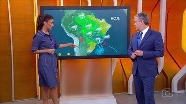 Meteorologia alerta para risco de temporais em MG nesta sexta-feira - Em São Paulo, a previsão é de garoa.
