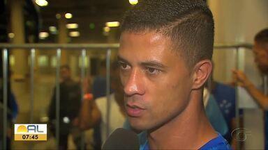 Atacante do CSA, Ricardo Bueno fala da vitória o Cruzeiro - Time azulino segue com chances de se livrar do rebaixamento