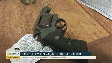 Seis pessoas são presas em operação contra tráfico de drogas - Quadrilha teria movimentado R$1 milhão em um ano.