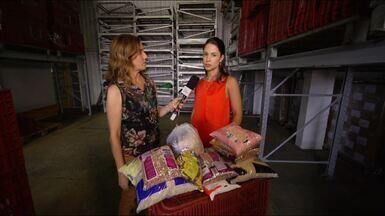 Mais Caminhos mostra como funciona o Banco de Alimentos de Campinas (SP) - Edlaine Garcia acompanhou todo o processo desde o recebimento das doações até a entrega dos alimentos nas instituições