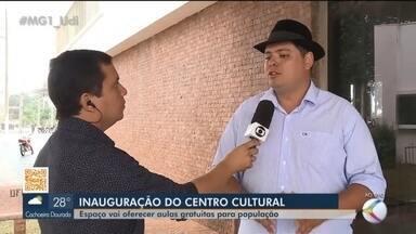 Centro Municipal de Cultura João da Abadia é inaugurado em Ituiutaba - O espaço vai oferecer aulas gratuitas para toda população. Confira a programação de abertura.