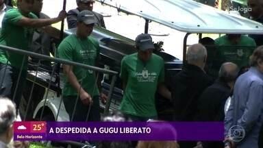 Veja como foram as últimas homenagens a Gugu Liberato - Corpo do apresentador foi enterrado em São Paulo nesta sexta-feira