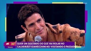 Gshow no 'Se Joga' 29/11: Reynaldo Gianecchini vai visitar o passado - Tati Machado conta quem são os aniversariantes desta sexta, do sábado e do domingo