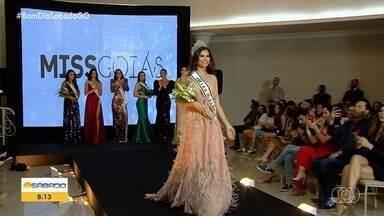 Representante de Goianápolis vence dispura e é eleita Miss Goiás 2019 - Ela vai ser a representante do estado no Missa Brasil do ano que vem.
