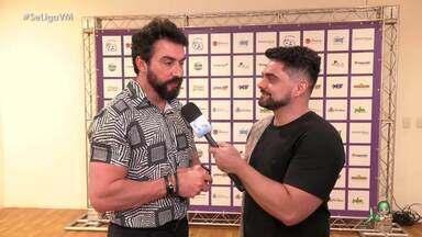 Aniversário da FM 93 com show do Padre Fábio de Melo - Daniel Viana entrevista artistas convidados e público cearense