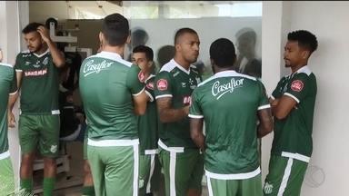 Uberlândia Esporte apresenta elenco e inicia pré-temporada para o Campeonato Mineiro - Verdão apresenta 12 atletas. Outros cinco jogadores vão chegar em breve