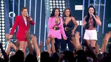 Coleguinhas falam sobre o sucesso da canção - Maiara e Maraísa desafiam a dupla com brincadeira de mímica